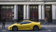 Noch immer etwas für Reiche: Ferrari und Gucci in London.