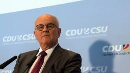 Kauder als Fraktionschef der Union gestürzt