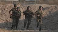 IS-Hochburg an Grenze zur Türkei erobert