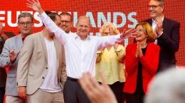 SPD baut Vorsprung zur Union aus