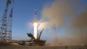 Sojus-Rakete zur ISS gestartet