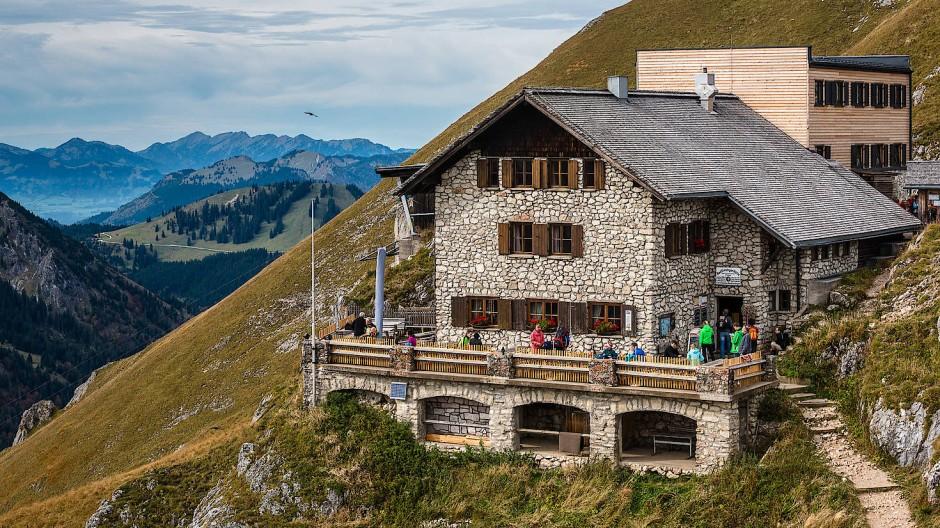 Die Bad Kissinger Hütte des Deutschen Alpenvereins