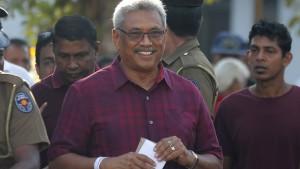Ex-Militärchef Rajapakse beansprucht Wahlsieg für sich