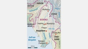 Infografik / Karte / Burma