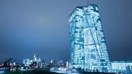 Heute kommt die Spitze der Europäischen Zentralbank in Frankfurt zusammen.