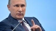 Putin wehrt sich gegen Kontosperrungen