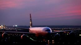 Weniger Starts und Landungen während Nachtflugverbots
