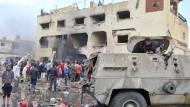 Dutzende Tote bei Anschlägen auf dem Sinai