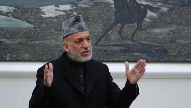Karzai kritisiert Amerikaner scharf