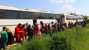 Viele Tote bei Anschlag auf syrischen Flüchtlingskonvoi