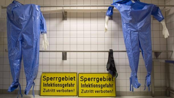 Wie sich Deutschland gegen Ebola rüstet