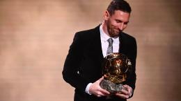 Messi ist Weltfußballer des Jahres