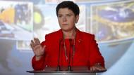 Fordernd: Polens Ministerpräsidentin Beata Szydlo.