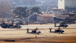 Südkorea und Amerika legen Truppen-Streit bei