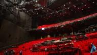 Blick auf die Zuschauerränge des Stage Theaters in Hamburg