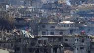 Marawi nach der Befreiung durch Regierungstruppen