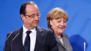 Hollandes Partei wirft Kanzlerin Merkel Egoismus vor