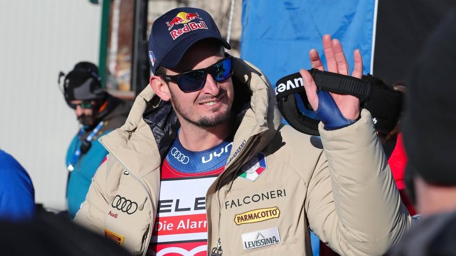 Dominik Paris trägt den Bullen auf der Stirn, nicht in der Hand.