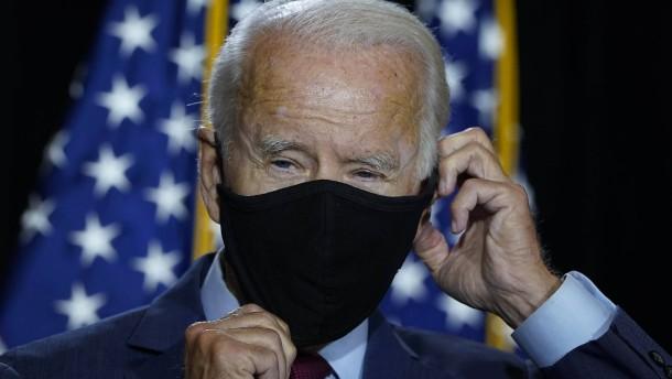 Biden fordert landesweite Maskenpflicht