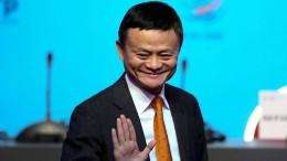 Chaos um angeblichen Abgang von Jack Ma