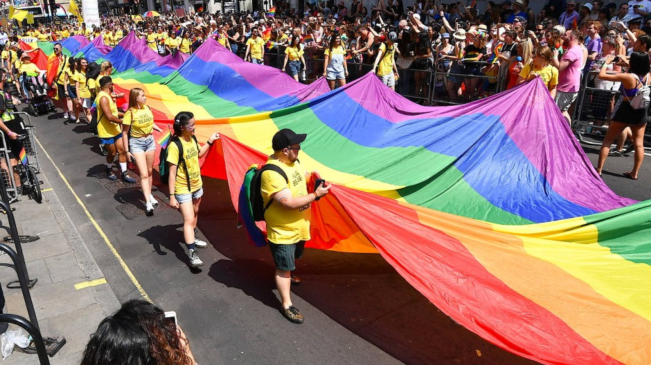 Die Teilnehmer der Londoner Pride Parade setzen sich für Diversität ein – und haben dabei vermutlich eine demographische Lesart im Sinn.