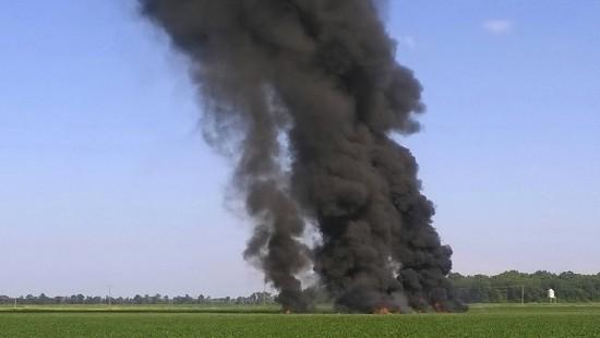 Mehrere Tote bei Absturz von Militärflugzeug