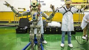 "Roboter ""Fedor"" soll ISS-Besatzung helfen"