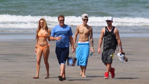 Und Justin twittert aus Panama