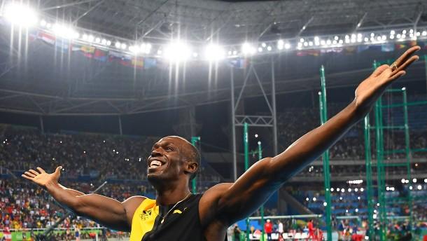 Usain Bolt holt Gold und will noch mehr