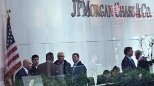 JP Morgan peilt Gewinn an