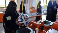 Fußball Brazuca wird in Pakistan gefertigt