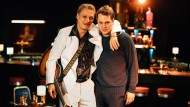 Singe, wem Gesang gegeben: Martin Brambach (links) und Ben Münchow haben einen Auftritt.