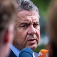 Verurteilt Drohungen gegen seine Frau: Außenminister Sigmar Gabriel