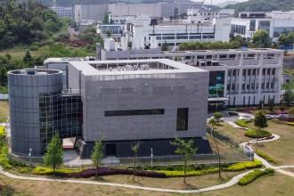 Das Labor der höchsten Sicherheitsstufe des Institute of Virology in Wuhan