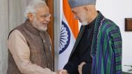 Amtseinführung von Narendra Modi