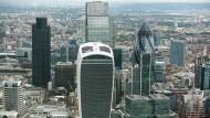 Ein Blick auf das Finanzviertel in London: Auch hier ließ sich letztes Jahr gut verdienen.