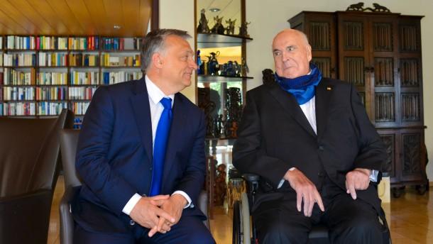 Kohl: EU-Politik ist kleinmütig und verantwortungslos