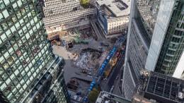 Markt für Bürovermietung bricht ein