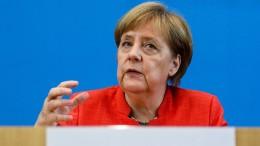 Merkel zu Israel, Trump und zum NSU-Prozess