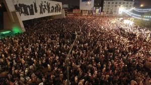 Iraker demonstrieren für Frieden