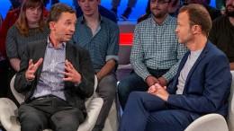 """AfD-Mitbegründer trifft """"Monitor""""-Mann"""
