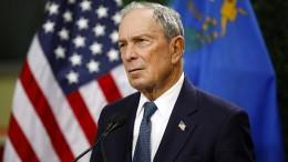 Milliardär Bloomberg tritt wohl gegen Trump an
