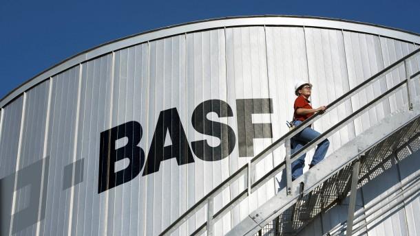 BASF profitiert von gutem Öl- und Gasgeschäft