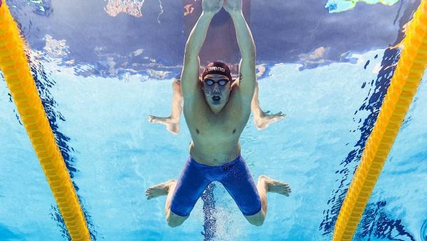 Den deutschen Schwimmern geht ein Licht auf