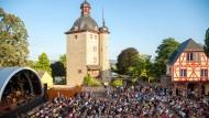 Die Freiluftkonzerte, wie hier im Schloss Vollrads, sind beim Rheingau Musik Festival beliebt. (Symbolbild)