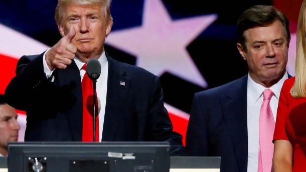 Trump schließt Manafort-Begnadigung nicht aus