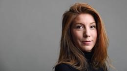 Kopf von vermisster schwedischer Journalistin gefunden