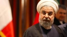 Rohani spricht auf der Vollversammlung der Vereinten Nationen
