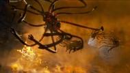 """Im Film """"Matrix"""" heißen die Drohnen """"Sentinels"""". Ihre Aufgabe ist das Suchen und Zerstören, tausendfach."""