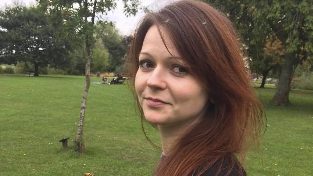 Julia Skripal aus der Klinik entlassen
